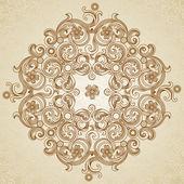 Diseño del patrón del cordón. — Vector de stock