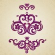 Vintage ornate pattern — Stock Vector