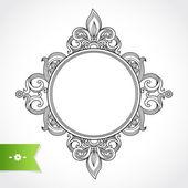 Vintage ornate frame — Stock Vector
