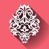 Vector Victorian ornamental pattern — Stock Vector