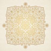Ornate decorative illustration — Stock Vector