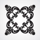 Vector barokke ornament — Stockvector
