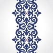 Vector seamless border in Victorian style. — Stockvector  #46766635