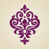Vector ornamento barroco de estilo victoriano. — Vector de stock