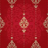 Muster im viktorianischen stil. — Stockvektor