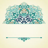 Vector ornate pattern — Stock Vector