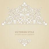 Vintage ornate pattern — Stock Vector
