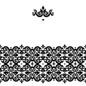 Border in Victorian style — Stock vektor