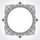 Vintage sierlijke frame — Stockvector
