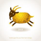 Symbolem 2015 koza — Wektor stockowy