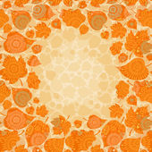 Autumn concept seamless pattern. — Stock vektor