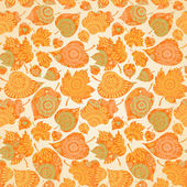 Autumn concept seamless pattern. — Stockvektor