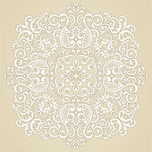 Vintage ornate pattern. — Vettoriale Stock