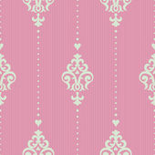 Seamless pattern in Victorian style. — Vector de stock