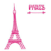 Paris — Stock Vector