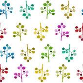 Watercolor pattern — Stock Vector