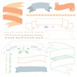 Hand drawn banners — Stock Vector #47489653