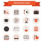 School Subject Icons — Stock Vector #50904161