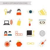 SEO icons — Stock Vector