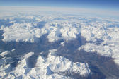 Alps Aerial View — Stock Photo