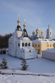 The Elizabethan Church in Dmitrov's kremlin. — Foto Stock