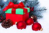 Christmas card — Stockfoto