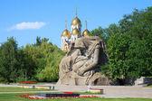 памятник скорби матерей в мамаев курган, волгоград, россия — Стоковое фото