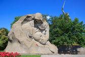 мемориал второй мировой войны на мамаев курган, волгоград — Стоковое фото