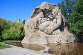 памятник войны мамаев курган, волгоград, россия — Стоковое фото