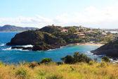 Panoramic view of the beach Ferradurinha near Rio de Janeiro, Brazil — Stock Photo