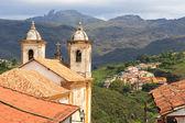 Church Igreja de nossa senhora do carmo in Ouro Preto — Stock Photo