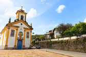Baroque Church in Ouro Preto, Brazil — ストック写真