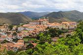 панорамный вид на ору-прету, бразилия — Стоковое фото