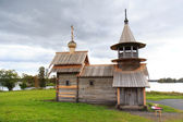Wooden church in Kizhi — Stock Photo