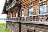 Wooden old house, Kizhi — Stock Photo