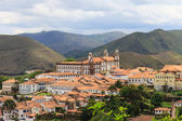 Panoramic view of Ouro Preto in Brazil — Foto de Stock