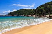 Peaceful empty beach of island Ilha Grande, Brazil — Stockfoto