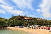 Small beautiful beach Ferradurinha in Búzios, Brazil — Stockfoto