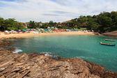 Small hidden beach Ferradurinha in Búzios, Brazil — Stockfoto