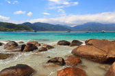 Beautiful beach Aventueiro, Ilha Grande, Brazil — Foto de Stock
