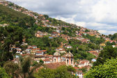 Panoramic view of Ouro Preto in Brazil — Stock Photo