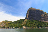 View Of Sugarloaf From Atlantic Ocean (opposite Side), Rio De Janeiro — Stock Photo