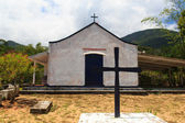 Church on island Ilha Grande, Brazil — Stock fotografie