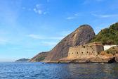 Fort São João and Sugarloaf, Urca, Rio de Janeiro — Stock Photo