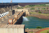 Hydroelectric dam Itaipu, Brazil, Paraguay — Stock Photo