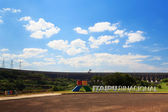 Itaipu Binacional Dam, Brazil, Paraguay — Foto de Stock