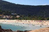 Beach Piratininga people Niteroi Rio de Janeiro — Foto Stock