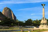 Sugarloaf Monument square, Rio de Janeiro — Stock Photo
