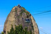Mountain Sugarloaf cable car, Rio de Janeiro — Stock Photo