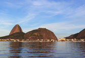 Mountain Sugarloaf and district Urca, Rio de Janeiro — Stock Photo